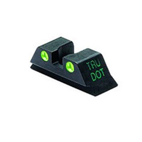 Meprolight Tru-Dot Rear Night Sight for Glock 10MM/.45 ACP TD (Green)