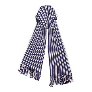 Missoni SA57WMD4694 Purple/Pink Stripe Knit Wool Blend Ladies Scarf/Shawl