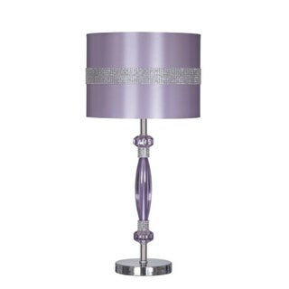 Nyssa Metal Table Lamp (1/CN) Purple Nyssa Metal Table Lamp (1/CN) Purple