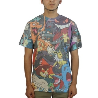 Pokemon Everybody Sublimation Men's MultiColor T-shirt