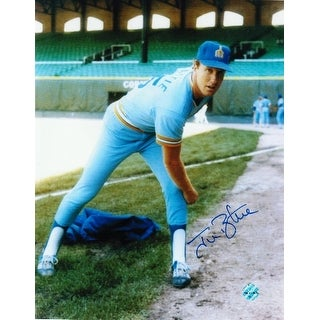 Jim Beattie Seattle Mariners Autographed 8x10 Photo
