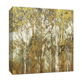 """PTM Images 9-147314  PTM Canvas Collection 12"""" x 12"""" - """"Birch Grove East"""" Giclee Trees Art Print on Canvas"""