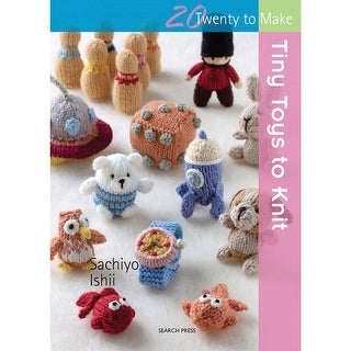 Search Press Books-Tiny Toys To Knit
