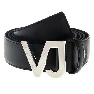 Versace ED8YSBF01 E899 Black Mens Belt