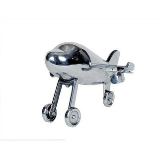 Privilege 92010 10 in. Aluminum Airplane Statue