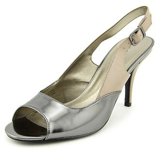 Tahari Ramona Women Peep-Toe Patent Leather Slingback Heel
