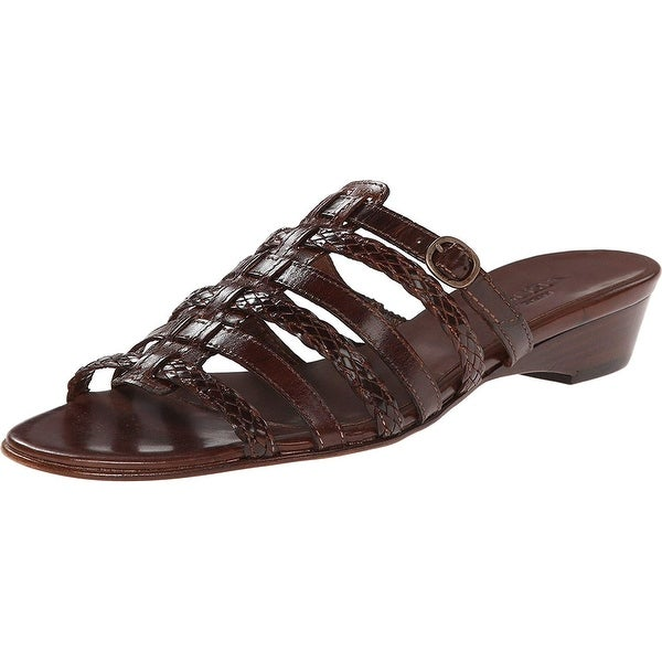 0418f3777d2 Shop Sesto Meucci Womens gypsum Open Toe Casual Slide Sandals - Free  Shipping Today - Overstock - 24303282