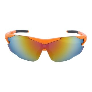 ROBESBON Authorized Unisex Bike Sunglasses Goggles Lens Cycling Glasses Orange