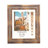 Italian Table Top Frame - Gold with Distressed Accents