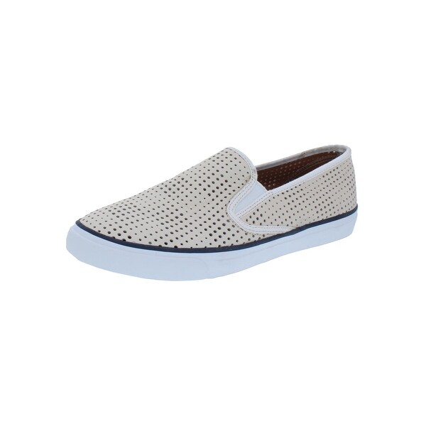 Sperry Womens Seaside Loafers Perforated Casual - 10 medium (b,m)