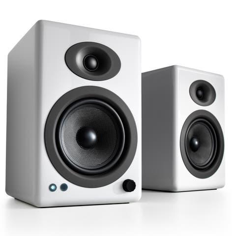 Audioengine A5+ Wireless Powered Bookshelf Speakers - Pair