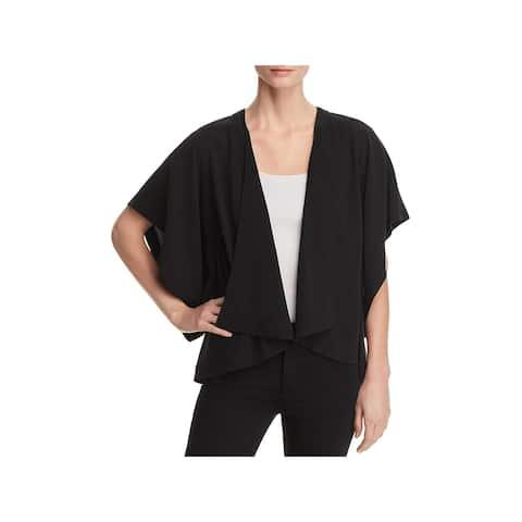Eileen Fisher Womens Cardigan Top Silk Kimono Sleeve