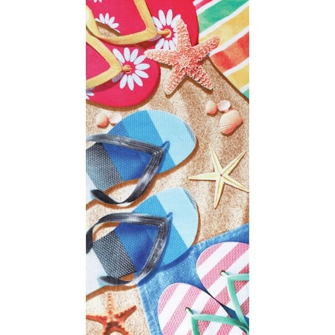 Sandals 30x60 Brazilian Velour Beach Towel