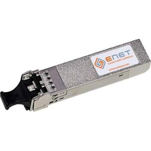 """ENET J9153A-ENC HP Compatible J9153A 10GBASE-ER SFP+ - Procurve 1550nm 40km DOM Duplex LC MMF 100% Tested Lifetime warranty and"