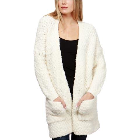 Lucky Brand Womens Finn Open-Front Cardigan Sweater