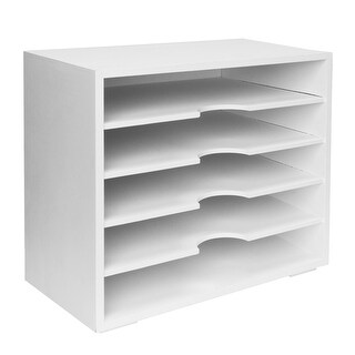 American Art Decor All-Purpose Document Organizer with 5 Shelves