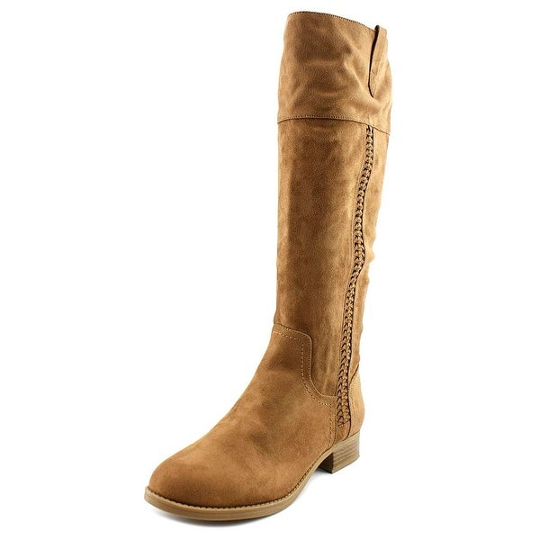 Indigo Rd. Canyon Women Round Toe Canvas Brown Mid Calf Boot
