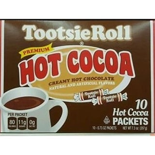 Cocoa Hot Tootsie Roll Tootsie Roll Hot Chocolate, Pack of 6