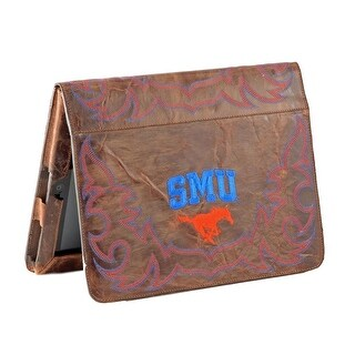 Gameday iPad Case Cover Southern Methodist Mustangs Brass