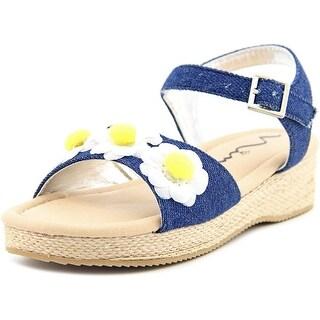 Nina Kids Donalea Toddler Open Toe Canvas Sandals