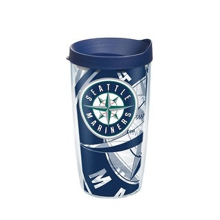 MLB Seattle Mariners Genuine 16 oz Tumbler with lid