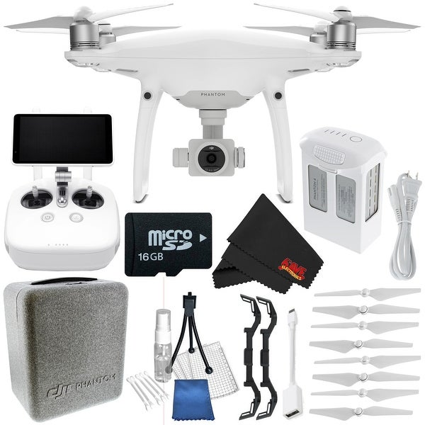 DJI Phantom 4 Pro+ Quadcopter CP.PT.000549 + Polar Pro Landing Gear for DJI Phantom 4 + Deluxe Starter Kit Bundle