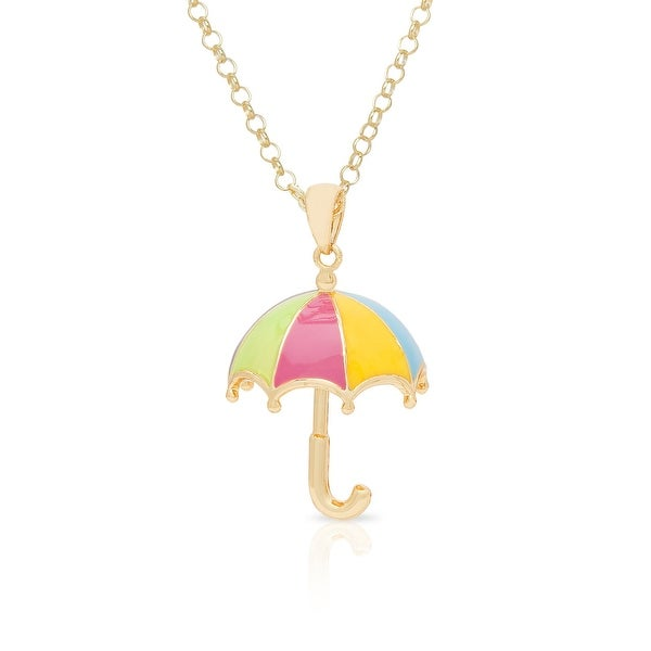 Lily Nily Girl's 3D Umbrella Pendant