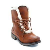 Wear.Ever. Sampson Women's Boots Whiskey/Beige