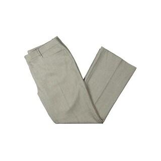 Tahari ASL Womens Dress Pants Pattern Flat Front