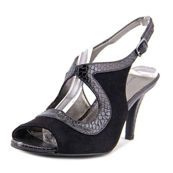 Bandolino Mentora Open Toe Canvas Sandals