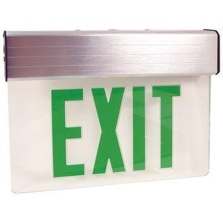 Elco EDGLIT2 Energy Star Double Face Transparent Edge-Lit LED Exit Sign