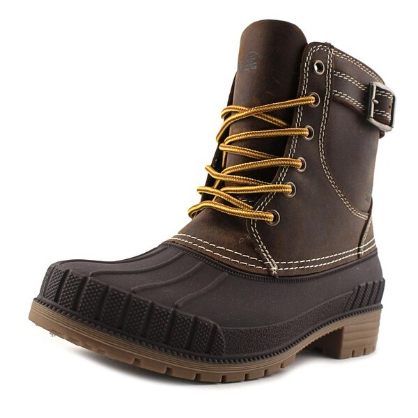 Kamik Evelyn Women Round Toe Synthetic Brown Snow Boot