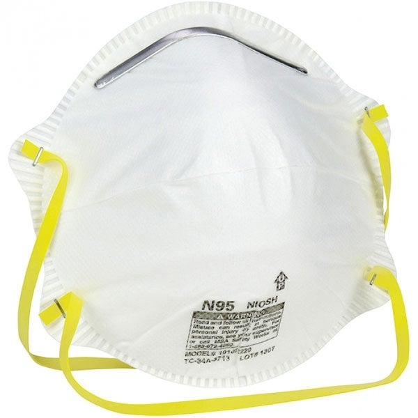 3m 20-pack disposable sanding and fiberglass safety mask