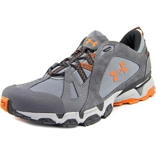 Under Armour Chetco Men Round Toe Synthetic Gray Trail Running