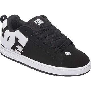 DC Shoes Men's Court Graffik Black