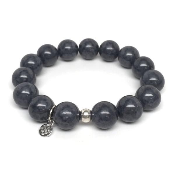 "Grey Jade Brook 7"" Bracelet"