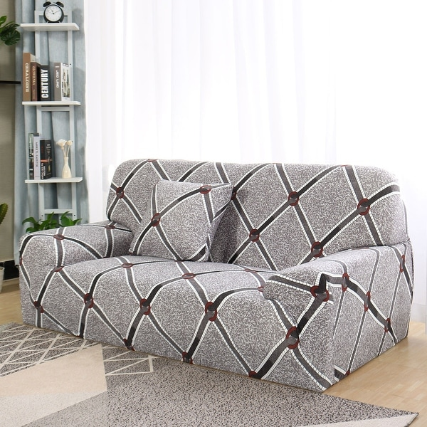 shop stretch slipcover for chair loveseat sofa furniture protector on sale free shipping. Black Bedroom Furniture Sets. Home Design Ideas