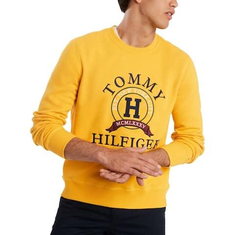 Tommy Hilfiger Mens Back Bay Sweatshirt Logo Comfy