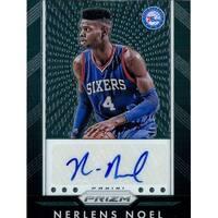 Signed Noel Nerlens Philadelphia 76ers 2015 Panini Basketball Card autographed