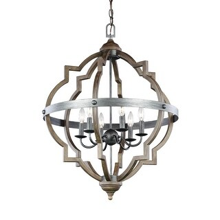 Sea Gull Lighting 5124906 Socorro 6 Light Foyer Pendant