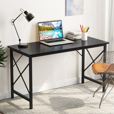 Writing Computer Desk,Modern Simple Study Desk,Industrial Vintage Laptop Table