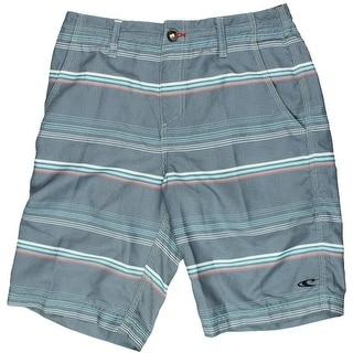 O'Neill Mens Striped Flap Pockets Board Shorts - 28