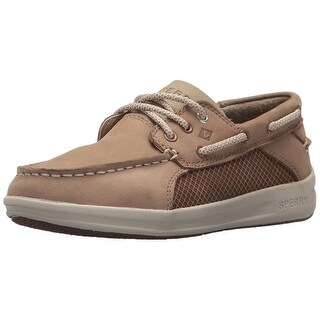 Kids Sperry Boys SP-Gamefish Lace Up Boat Shoes - 4.5 wide us big kid
