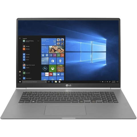 "LG Gram 17Z990-R.AAS7U1 17"" 16GB 256GB SSD Intel Core i7-8565U Win10,Gray(Certified Refurbished)"