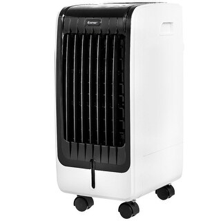 Costway Evaporative Air Cooler Portable Fan Conditioner Cooling Touch Pad Remote Office