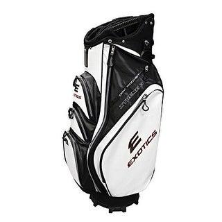 Tour edge golf ubaexcb32 exotics xtreme3 cart bag blkwh - Black