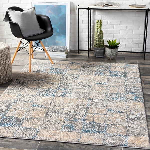 Novlan Global Abstract Area Rug. Opens flyout.