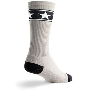 SockGuy Crew 8in Stars Cycling/Running Socks