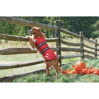 Red Extra Large - Dog Blanket Coat