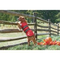 Red Large - Dog Blanket Coat